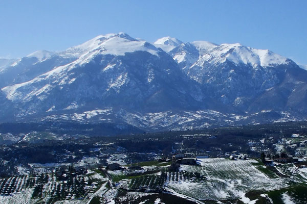 Abruzzo mountains are the region's literal backbone. The Majella National Park and Gran Sasso will provide a constant scenic backdrop to your holiday