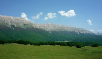 The alpine meadows, forests, mountains and big skies of the Majella National Park