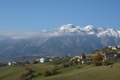 Abruzzo's scenic backdrop of the Majella National Park