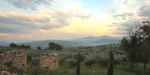 Abruzzo - scenic. But not quaint !