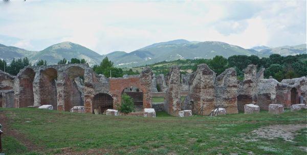 Amiternum's Roman arena