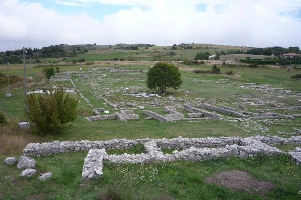 The site at Iuvanum