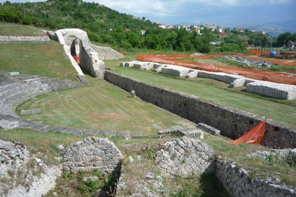 The Roman theatre at Amiternum