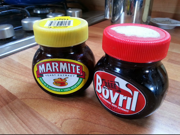 Bovril and Marmite - two British favourites
