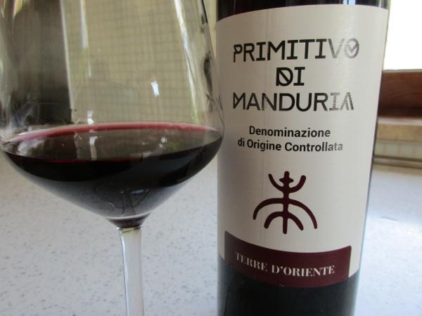 Primitivo - a spicy Italian red wine from Piglia
