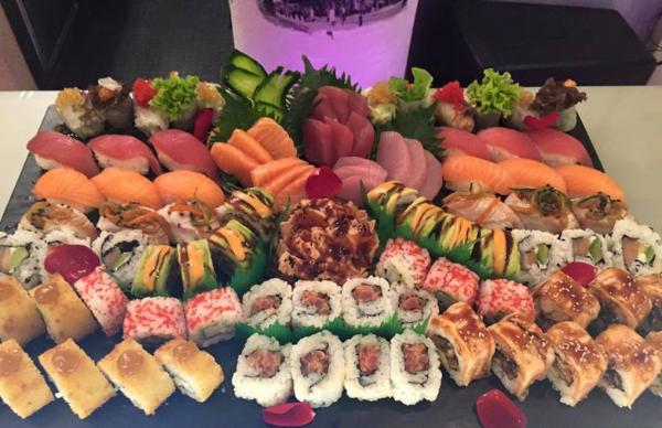 Sushi at Chef Nestor