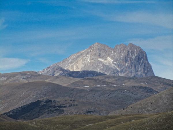 Corno Grande - the highest mountain in the Apennine chain