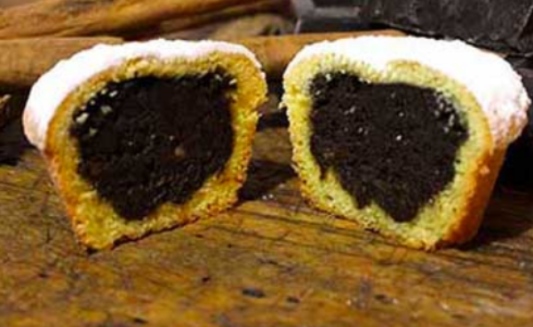The Bocconotto - an Abruzzo pastry speciality stuffed with chocolate